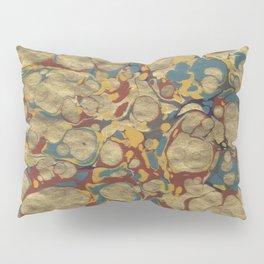 Marbled Gold Pillow Sham