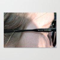 marc jacobs Canvas Prints featuring Marc Jacobs  by J_Vesce