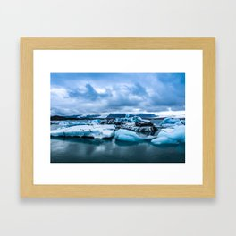 Icescape Framed Art Print