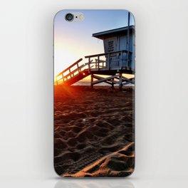"""Redondo Beach """"Life Guard Tower 3"""" iPhone Skin"""