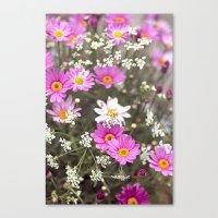 daisy Canvas Prints featuring Daisy by LebensART Photography