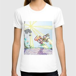 Laughing Along the Path - One Boy and a Toy T-shirt