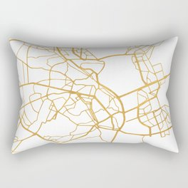 KIEV UKRAINE CITY STREET MAP ART Rectangular Pillow