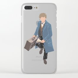 Scamander Running Clear iPhone Case