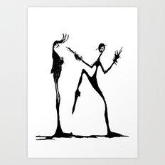 DANCE for me ...  Art Print