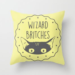 WIZARD BRITCHES Throw Pillow