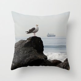 mine Throw Pillow