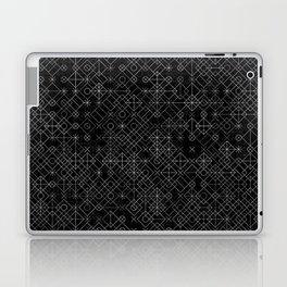 Black and White Overlap 1 Laptop & iPad Skin