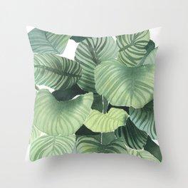 Urban Jungle - Plant Throw Pillow