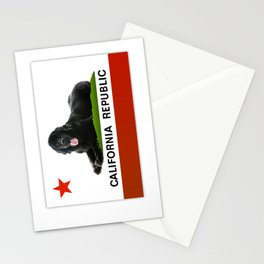 California Newfie Flag! Stationery Cards
