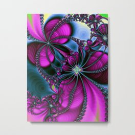 Flowering Rythm Metal Print