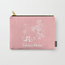 Sakura Cats Carry-All Pouch