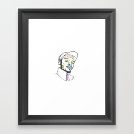 The Rapper-a-Day Project | Day 24: Del the Funky Homosapien Framed Art Print