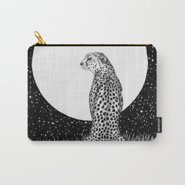 Cheetah Moon Carry-All Pouch