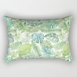 Tropical Branches Pattern 08 Rectangular Pillow