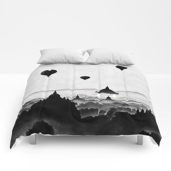 Aurora (On Paper) Comforters