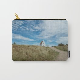Sand covered Church in Skagen, Denmark Carry-All Pouch