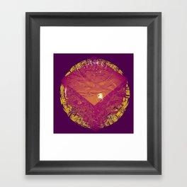 valentine's day. bummer. Framed Art Print