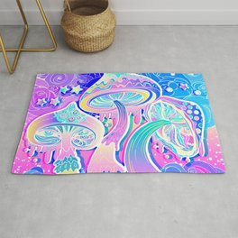 Magic Mushrooms Rug