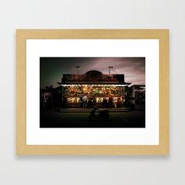 20h03 Framed Art Print