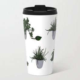 Plant Pattern Travel Mug