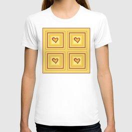 Gold Heart 2 T-shirt