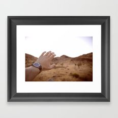 With in Reach Framed Art Print