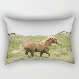 Wild Horses Couldn't Keep Me Away Rectangular Pillow