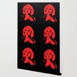 Blondie | Debbie Harry | Red | Pop Art Wallpaper