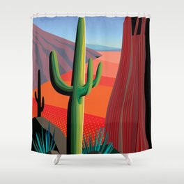 Gringo Pass Shower Curtain