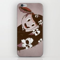 Head Spill iPhone & iPod Skin
