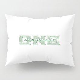 Retro 1928 Dollar Pillow Sham
