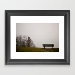 Foggy View Framed Art Print