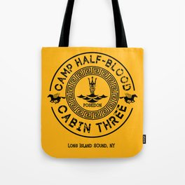 Percy Jackson - Camp Half-Blood - Cabin Three - Poseidon Tote Bag