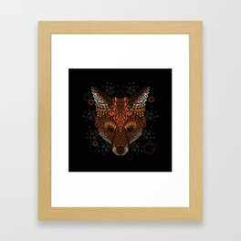Fox Face Framed Art Print