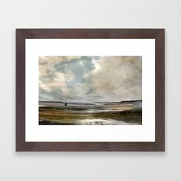 Vintage Seascape Art Framed Art Print