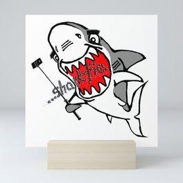 Sharkfie Mini Art Print