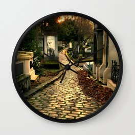 Pere Lachaise Cemetery Wall Clock