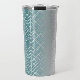 Silver Decor Travel Mug