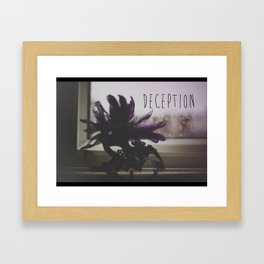 Deception  Framed Art Print