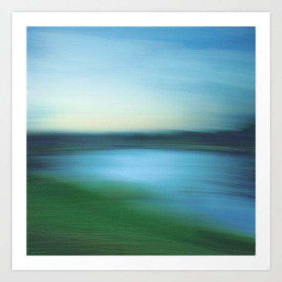 Morning Flow  Art Print