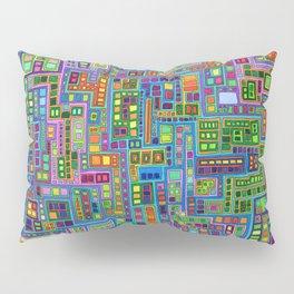 Tiled City Pillow Sham