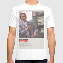 American Psycho Minimal Movie Poster No 03 T-shirt