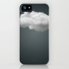 Dark Cloud is Beautiful. Modern art, Humour, Clever iPhone Case
