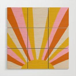 sunshine state of mind Wood Wall Art