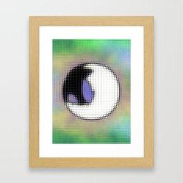 Mystic- Scattered Pixels Framed Art Print