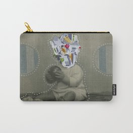 8bit Face Carry-All Pouch