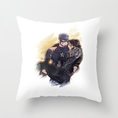 To the End of the Line Throw Pillow