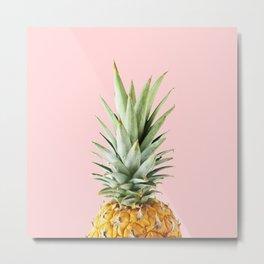 queen pineapple Metal Print