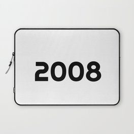 Awesome Since 2008 11th Years Old Shirt 11 Birthday Gift Laptop Sleeve